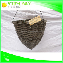 China supplier hanging plant pot / Classic plastic bathroom basket