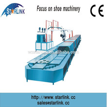 2015 NEW Wenzhou Starlink Patent PU TPU Loop-line 60 STATION gym shoe outsole machine