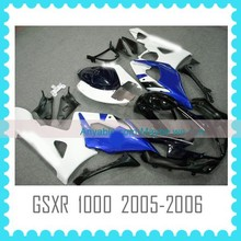 2014 Aftermarket ABS Custom Fairing Body Kit Quality ABS motorcycle Fairing for SUZUKI GSXR1000 K5 2005 2006