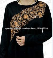 2013 diseño de moda para las mujeres abaya, caftanes, ropa islámica kj-eba 002