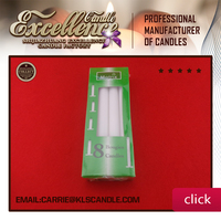 white color household daily use candle/wax candle-0086 15633042031