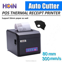 300mm/S High Speed Thermal Printer USB/WIFI/Ethernet POS Printer 80mm
