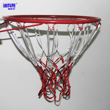 2 Colored 12 Hooks Basketball Net/Outdoor/Indoor
