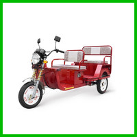 Best Chongqing Commercial Tricycle for Passengers Bajaj Style Tuk Tuk for Sale