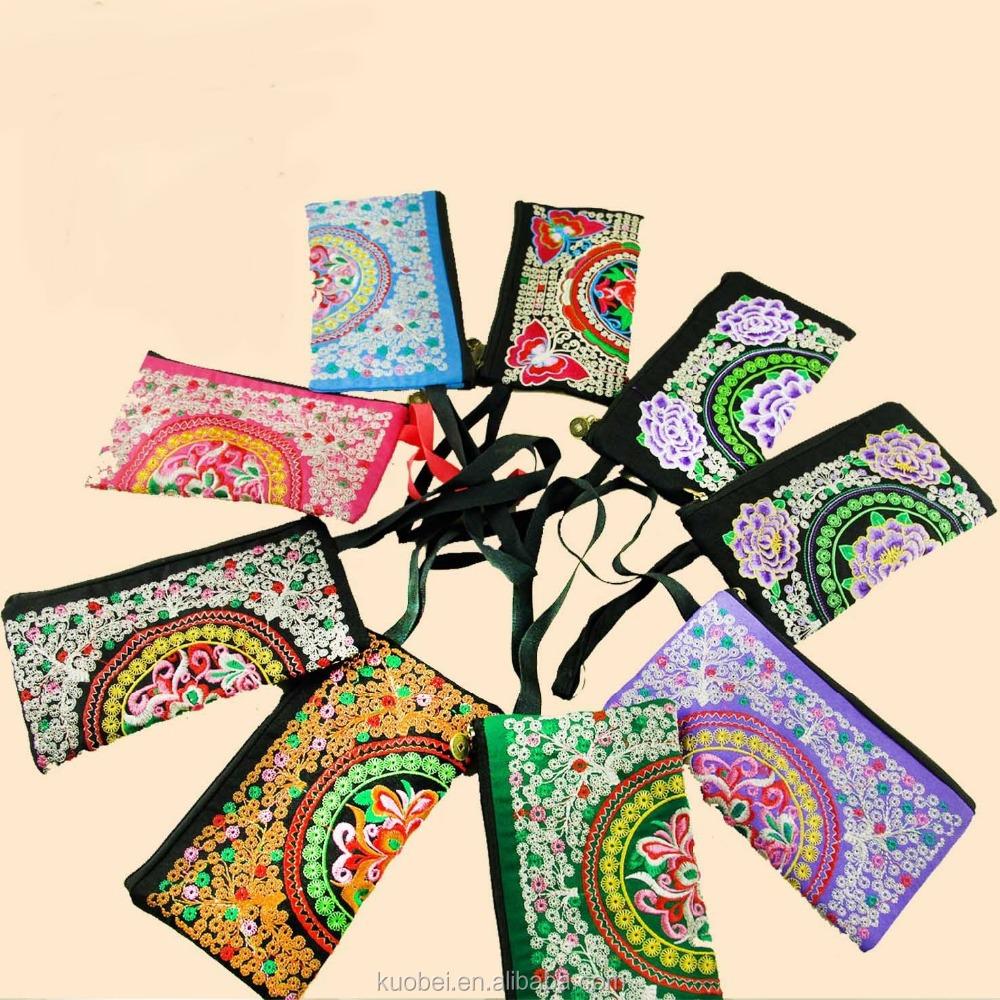 Chinese embroidery fabric makaroka