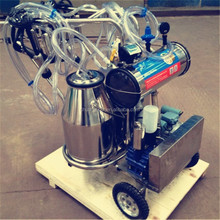Small Manual Milking Machine with Motor and Vacuum Pump