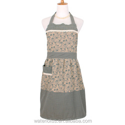 with 11 years manufacture experience factory supply durable easy cleaning garden apron for hotel waitress