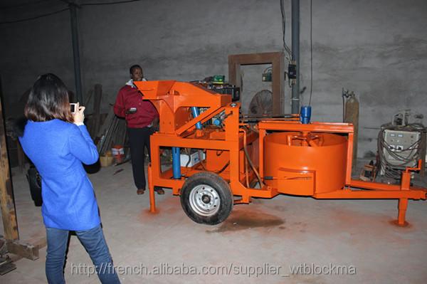 machine de chine wt1 20 m7m1 presse brique terre crue. Black Bedroom Furniture Sets. Home Design Ideas