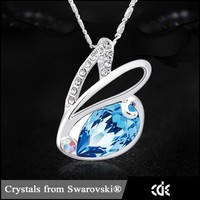 CDE Women Necklace 925 Sterling Silver Jewelry Wholesale 2015