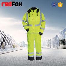 reflective safety elastic waist fire retardant