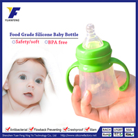 stainless steel baby bottle baby feeding bottle with spoon