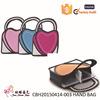 Fashion Korean Style 3D hand bag Comic Cartoon, Polyester 2D Cartoon lady hand bag