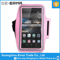 Universal 5.5 inches Cell Phone Neoprene Running Sport Armband Case for LG G2, for LG G3, for Huawei P8