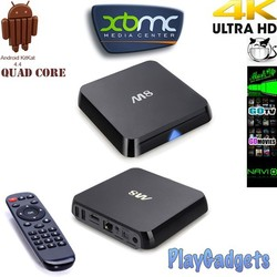M8 Quad Core Amlogic S802 A9 2GB RAM 8GB Android 4.4 TV Box Wifi Google Smart TV Full HD Media Player 4K movie