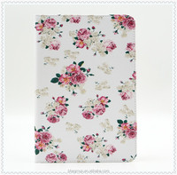 New Painted PU Leather Case With Card Slots For Apple iPad mini 4 Case Folio Stand Protector Skin Case For Apple iPad mini4