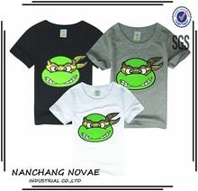 Fashion 2014 Boys Teenage Mutant Ninja Turtles T Shirt Girls Top T-Shirt For Kids Baby Summer Cartoon Children T Shirt Clothing