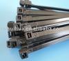 """Top selling plastic cable tie 8"""" UV black colour 100pcs/bag"""