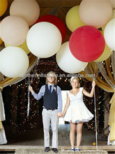 "35 gram 36"" latex balloon big advertising balloon"