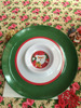 French Fries Party Melamine Dip Trays Round Plastic Chip And Dip Plates Dipping Dish