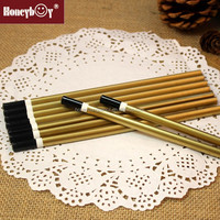 best selling wooden fashion specil painted pencil