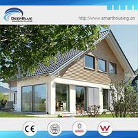 Prefabricated steel structure residence