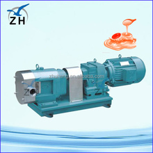 stainless steel sanitary rotor pump positive displacement