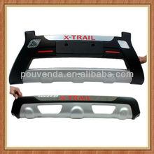 09-12 protectores de Parachoques Delanteros y traseros para Nissan X-trail Accesorios