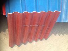 Economic stylish color coated roofing sheet 828 model