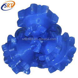 """rubber sealed bearing 8 1/2""""steel tooth tricone bit for oilfield drilling manufacturer"""