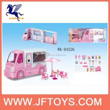 Funny baby plastic ice cream bus shop
