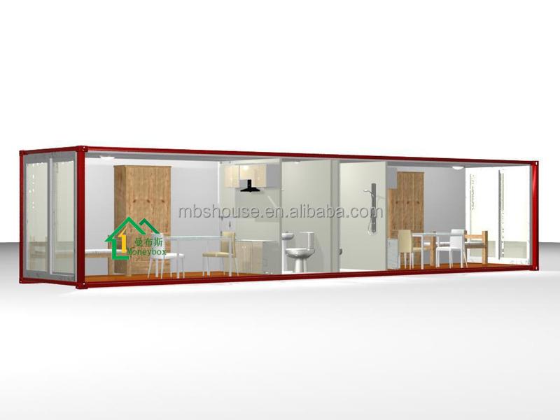 20ft maison de conteneur pr fabriqu pour vente moderne for Container maison taille
