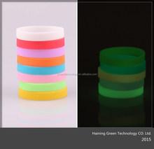 2015 Hot Sale Silicone Promotion Wristband Bracelet/college team bracelets