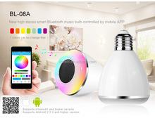 Wholesale Top Selling LED Bluetooth Mini Speaker, Portable bluetooth Speaker, Music Mini Bluetooh Speaker led light bulb speaker