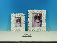 Xinfeng craft-frame Decorative tree leave shape resin material picture photo frames