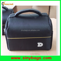 Camera Bag Case with strap,Waterproof Carry Bag For Nikon Canon, BLACK LARGE CAMERA Shoulder BAG