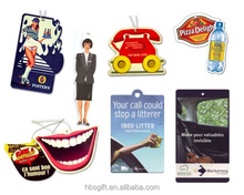 Free design amiable hanging paper sexy car air freshener with logo