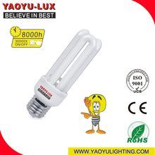 2014 new design U series energy saving light E27 B22