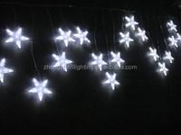 outdoor christmas shooting star icicle light