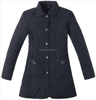 Long style women quilting jackets,winter coat