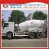 HOWO 6x4 diesel engine concrete mixer truck
