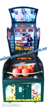 Simulator game basketball machine for adult