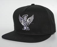 baseball cap with embroidery angel logo