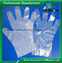 Disposable pe gloves sanitary cleaning plastic gloves for hair dyeing