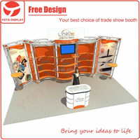 2015 New style exhibition booth/ Exhibition Stand/Trade Show display