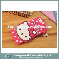 New technoloy holle kitty design mobile phone cover for iPhone 6