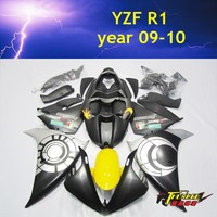 High Quality ABS Injection Motorcycle Fairing kit for YAMAHA YZF R1 09 10