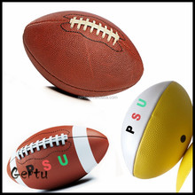 Size 1/2/3/6/9 American football sport ball factory