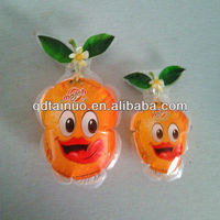strawberry shape gravure printing plastic packet for juice