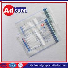 safety deposit bag/plastic packaging tamper bag/disposable deposit bags