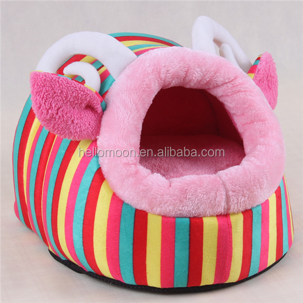 Hot Sell Comfortable Luxury Animal Shape Opening Roof Dog House